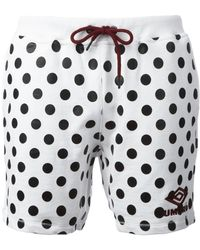 House of Holland - X Umbro Polka Dot Shorts - Lyst