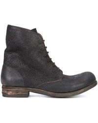 A Diciannoveventitre - Lace-up Ankle Boots - Lyst