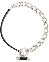 Givenchy - Obsedia Collar Chain Necklace - Lyst