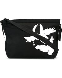 Ann Demeulemeester - Bird Print Shoulder Bag - Lyst