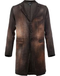 Avant Toi - Buttoned Coat - Lyst