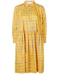 Peter Jensen - Check Shirt Dress - Lyst
