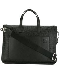 Loewe - Oversized Briefcase - Lyst
