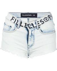 Filles A Papa - Cruz Mini Shorts - Lyst