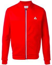 Le Coq Sportif - Zipped Sports Jacket - Lyst