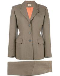 Alaïa - Tailored Two Piece Suit - Lyst
