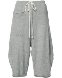 Lost and Found Rooms - Bermuda Track Shorts - Lyst