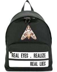 Givenchy - 'real Eyes Realise Real Lies' Backpack - Lyst