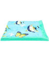 Ferragamo - Butterfly Print Towel - Lyst