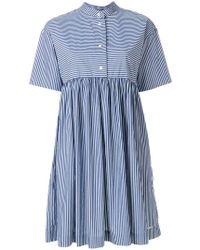 Woolrich - Striped Dress - Lyst
