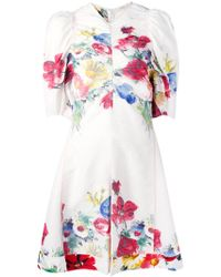 Céline - - Floral Print Jumpsuit - Women - Linen/flax/viscose - 38 - Lyst