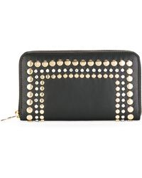 Sonia Rykiel - Gold-tone Stud Embellished Wallet - Lyst