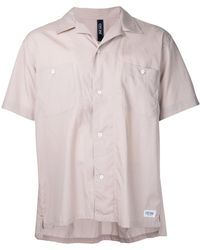 Factotum - Short Sleeve Open Collar Shirt - Lyst