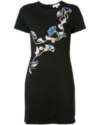 American Rag Cie - Embroidered Mini Dress - Lyst