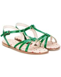 Pepe Jeans - T-bar Buckle Sandals - Lyst