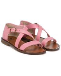 Pepe Jeans - Crossed Strap Sandals - Lyst