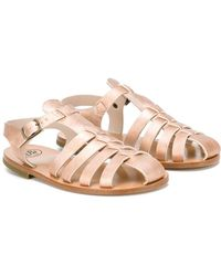 Pepe Jeans - - 'hollister' Woven Sandals - Kids - Goat Skin/leather - 34 - Lyst