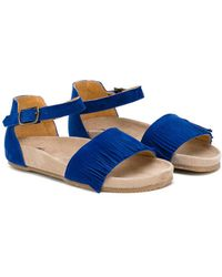 Pepe Jeans - Fringed Sandals - Lyst