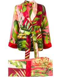 F.R.S For Restless Sleepers - Floral Print Suit - Lyst