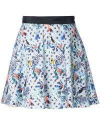 Loveless | Bird Print Skirt | Lyst