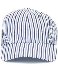 Sunnei - Striped Cap - Lyst