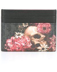 Dior Homme | Floral Print Cardholder | Lyst
