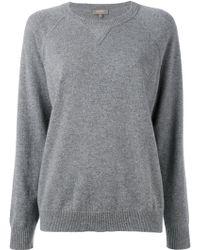 N.Peal Cashmere - Knitted Long Sleeve Sweatshirt - Lyst