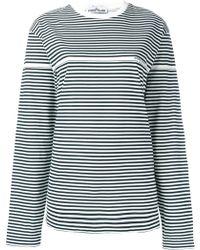 Stone Island - Striped Long-sleeve T-shirt - Lyst
