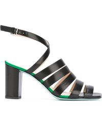 PS by Paul Smith - Strappy Block Heel Sandals - Lyst