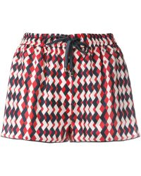 F.R.S For Restless Sleepers - Printed Drawstring Shorts - Lyst