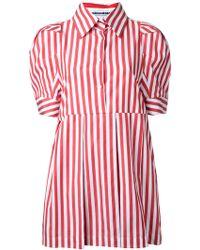 Mikio Sakabe - - Candy Stripe Shirt Dress - Women - Cotton - M - Lyst