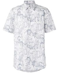 Paul by Paul Smith - Printed Shortsleeved Shirt - Lyst