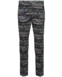 Akris Punto - Patterned Cropped Trousers - Lyst