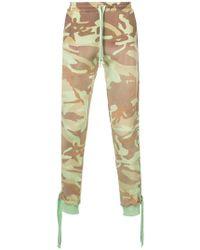 Faith Connexion - Pantalon de jogging camouflage - Lyst