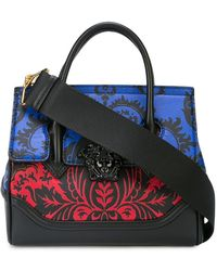 1499fcb0a2 Lyst - Versace Coulisse Palazzo Empire Bag in Black