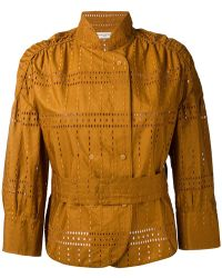 Veronique Leroy - Embroidered Jacket - Lyst
