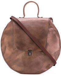 Cherevichkiotvichki   Circle Lock Leather Shoulder Bag   Lyst