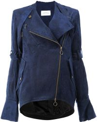 Song For The Mute - Fitted Biker Jacket - Lyst