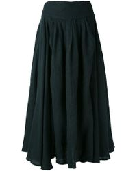 Black Crane - Wrap Skirt - Lyst