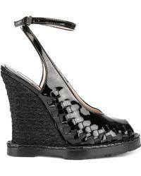 Bottega Veneta - Sandalo con cinturino alla caviglia - Lyst