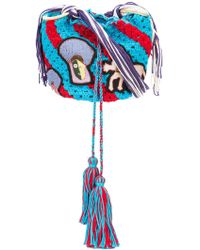 Peter Pilotto - X Francis Uprichard Centaur Applique Bag - Lyst