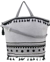Dodo Bar Or - Embroidered Oversized Tote - Lyst