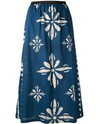Diega - Print High Waist Skirt - Lyst