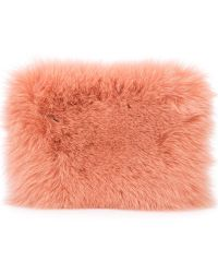 Brother Vellies - Fur Clutch - Lyst