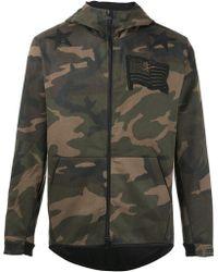 Hydrogen - Camouflage Hooded Jacket - Lyst