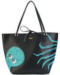 Essentiel Antwerp - Octopus Embroidered Shoulder Bag - Lyst
