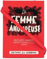 Olympia Le-Tan Clutch a libro La Femme Amoureuse