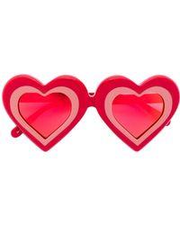 Yazbukey - Heart Shaped Sunglasses - Lyst
