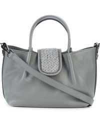 Fabiana Filippi - Mini Tote Bag With Yarn Embellished Closure - Lyst