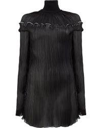 Litkovskaya - Sheer Funnel Neck Dress - Lyst